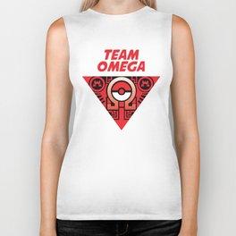team omega ruby Biker Tank
