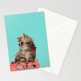 Messy Lil Cat Stationery Cards