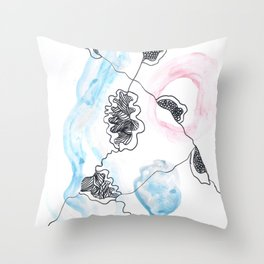 Scandi Micron Art Design | 170412 Telomere Healing 11 Throw Pillow