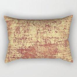 Paprika Crackle Rectangular Pillow