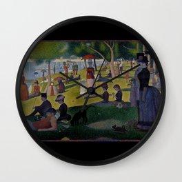 Seurat, la Grande Jatte Wall Clock