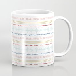 Merry Fair Isle - Vintage Colors Coffee Mug