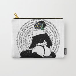Winter space flower Carry-All Pouch