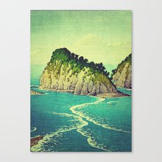 Heading towards Ohzu Canvas Print