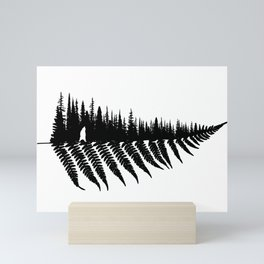 Forest Fern Mini Art Print