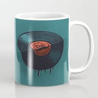 record Mugs featuring Hot Record by Carlitos Way