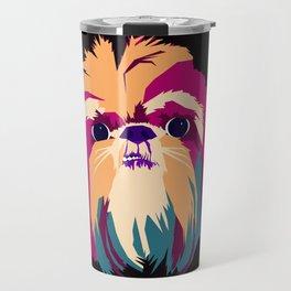 Shih Tzu Face Travel Mug