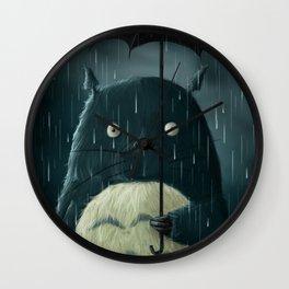 I love the rainy nights Wall Clock