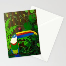 Il Tucano Pensieroso (The Thoughtful Toucan) Stationery Cards