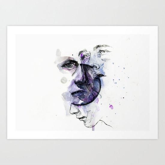 lacking stabilty Art Print