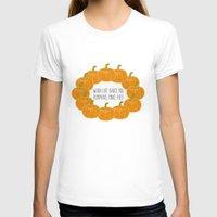 pie T-shirts featuring Pumpkin Pie by Laura Maria Designs