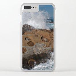 Big Sur's Point Lobos Clear iPhone Case