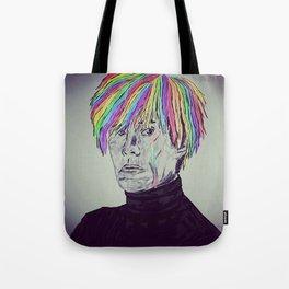 Rainbow Andy Tote Bag