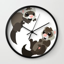 Ferrapy Wall Clock