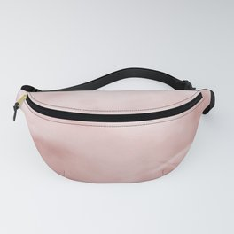 Rose brown Marble texture Fanny Pack