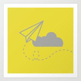 Sky High (Minimal) Art Print