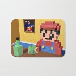 Game over Mario Bath Mat