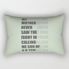 Son of a B*TCH Rectangular Pillow