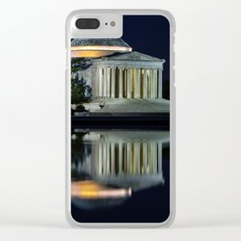 Jefferson at Night Clear iPhone Case