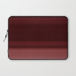 Ruby Red Ombre Stripe Design Laptop Sleeve