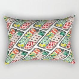 Sushi Collection – Black Platter Rectangular Pillow