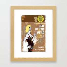 Day of the Dead Exhibition Poster Framed Art Print