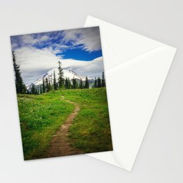 Pathway to the Mountain Stationery Cards