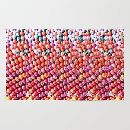 Easter Eggs and Bunny Stereogram Rug