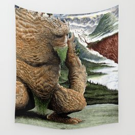 The Earth Golem Wall Tapestry