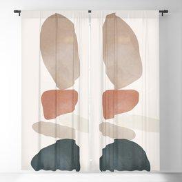 Balancing Stones 25 Blackout Curtain
