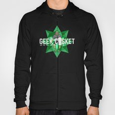 geek casket {green}. Hoody
