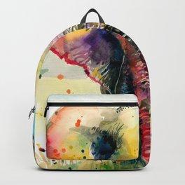 RAINBOW ELEPHANT WATERCOLOR Backpack