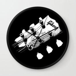 Gibson Les Paul Head - Guitar - Rock and roll -Blues - Music Wall Clock