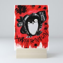 Death Penguin Mini Art Print