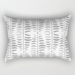 Helecho grey & white Rectangular Pillow
