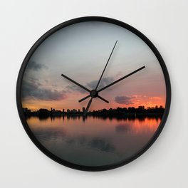 Color symmetry in Rotterdam Wall Clock