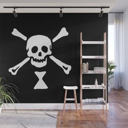 Emanuel Wynne Pirate Flag Jolly Roger Wall Mural