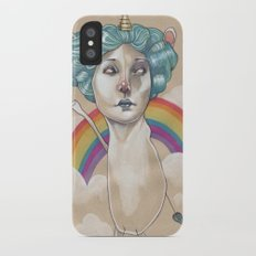 RAINBOW UNICORN Slim Case iPhone X