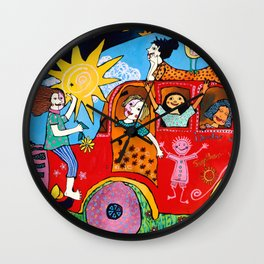Together we are strong Wall Clock