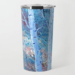 The Majesty of Birch Trees Travel Mug