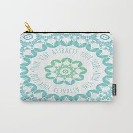 Your Vibe Attracts Your Tribe Carry-All Pouch
