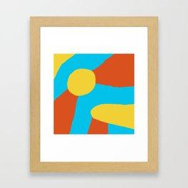 Sun-kissed Framed Art Print