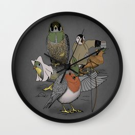 Robin and his merry friends. Wall Clock