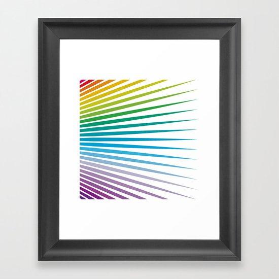 Shapes #32 Framed Art Print