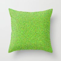 lime Throw Pillows featuring lime by ecceGRECO