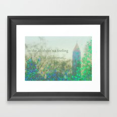 In The Air There's A Feeling Framed Art Print