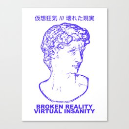 VIRTUAL INSANITY Canvas Print
