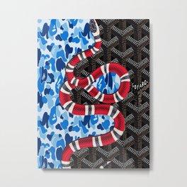 Goyard x Bape Metal Print