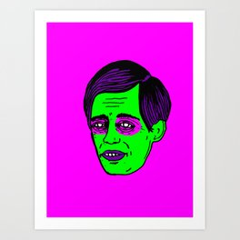 STEVE BUSCEMI OH SO DREAMY  Art Print