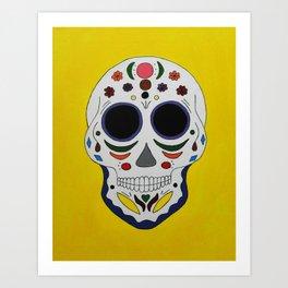 Sugar Skull #2 Art Print